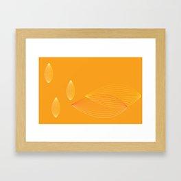 Blimp Framed Art Print