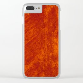 Rusty stained cloth sheet texture abstract Clear iPhone Case