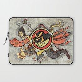 YM Japanese Tails Laptop Sleeve