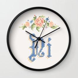 Ni Wall Clock