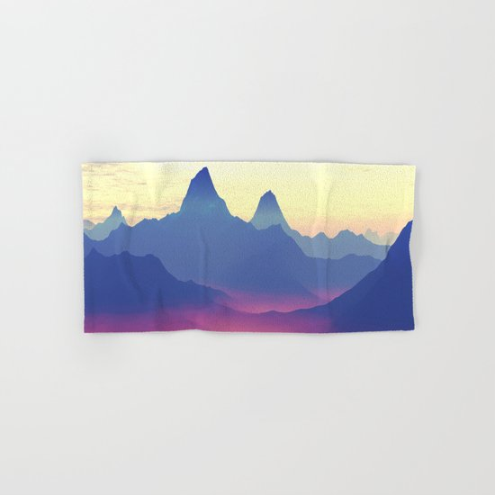 Mountains of Another World Hand & Bath Towel