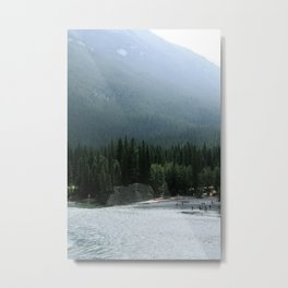 Rafting at the Fairmont Metal Print