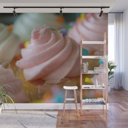 Cupcakes Wall Mural