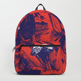Red Lily Backpack