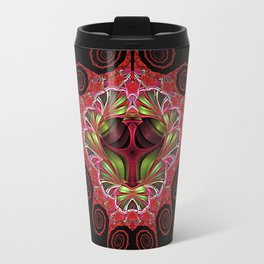 Holiday Colors Swirls Travel Mug