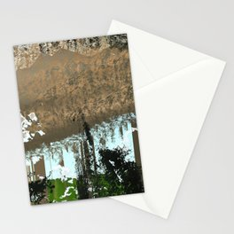 landscape collage #05 Stationery Cards