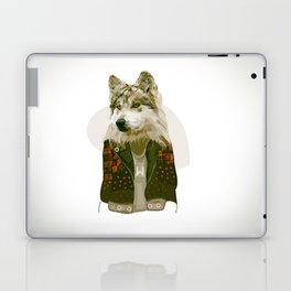 wolf jacket Laptop & iPad Skin