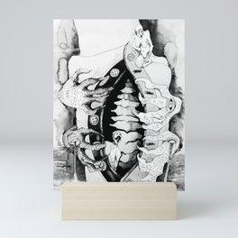 The Back Mini Art Print