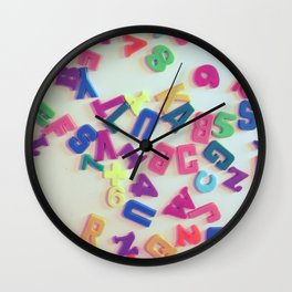 ABC Wall Clock