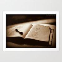 poetry Art Prints featuring Poetry by Reggie Thomas Photos
