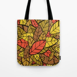Autumn Memories (a pile of leaves) Tote Bag