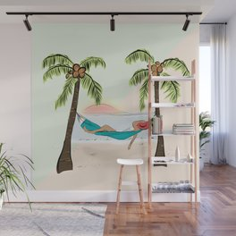 Relaxing Beach Vibes Wall Mural