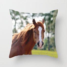 I am Beautiful Throw Pillow