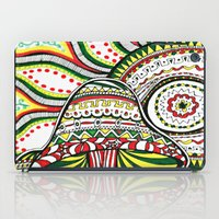 rasta iPad Cases featuring Rasta by Marcela Caraballo