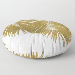 Palm Leaf Gold II Floor Pillow
