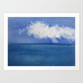 Cape Cod Cloud Sweep Art Print