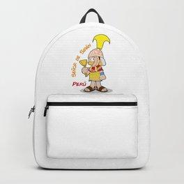 Peru Señor de Sipan Backpack