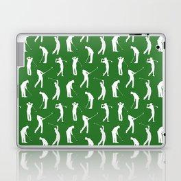 Golfers on the Fairway Laptop & iPad Skin