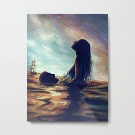 Sea In Our Blood Metal Print