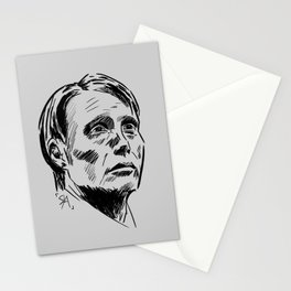 Hannibal Lecter Sketch Stationery Cards