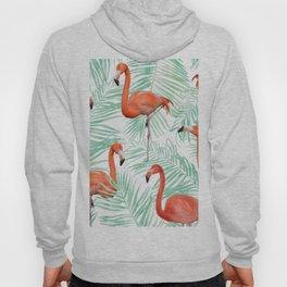 Flamingo + Mint Palm #society6 #decor #buyart Hoody