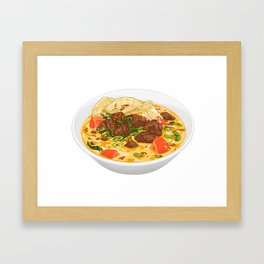 Soto Betawi Framed Art Print