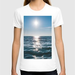 Sea Blue Sky sun T-shirt