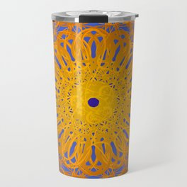 Symmetry 12: Sunflower Travel Mug
