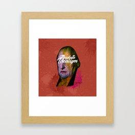 Friedrich Hegel Framed Art Print
