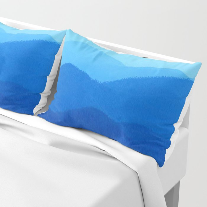 Hunter Mountain Spring Pillow Sham