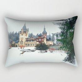Peles Castle Romania Rectangular Pillow