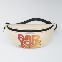 Find your fire no2 Fanny Pack