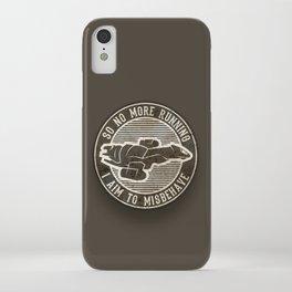 Misbehave Badge V2 iPhone Case