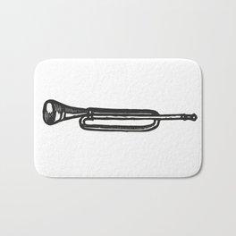 Trumpet Trompeta Trompette Trompete труба Bath Mat