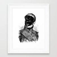 bdsm Framed Art Prints featuring BDSM XXVIII by DIVIDUS