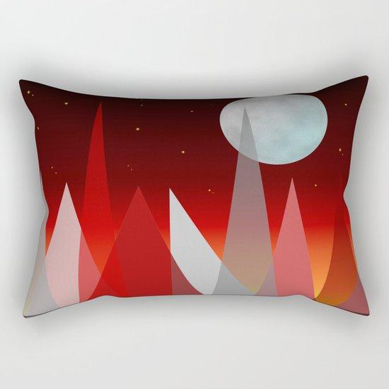 Under The Night Sky Rectangular Pillow