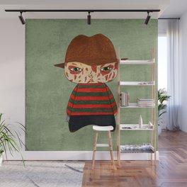 A Boy - Freddy Krueger Wall Mural