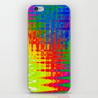 chaos iPhone & iPod Skins featuring Chaos by Geni