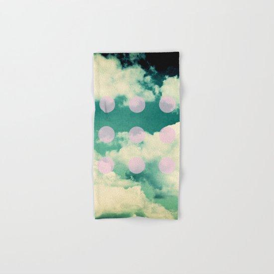 Clouds + Dots Hand & Bath Towel
