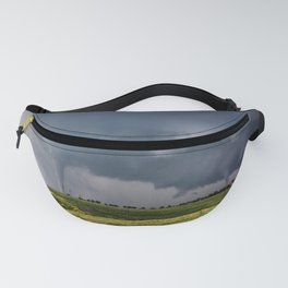 Twins - Two Tornadoes Touch Down Near Dodge City Kansas Fanny Pack