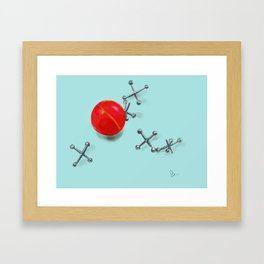 Jacks Framed Art Print