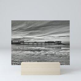 Cromer Pier in the Evening Mini Art Print