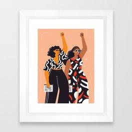 Feminism is for everybody Framed Art Print