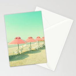 Pink Row II Stationery Cards