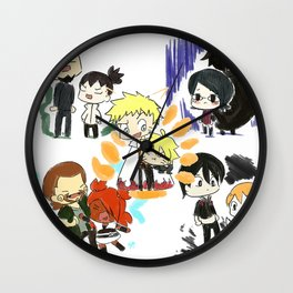 Father and Children (Naruto) Wall Clock