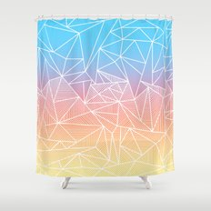 Bakana Rays Shower Curtain