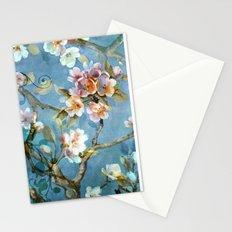 Fantasy cherry blossom tree Stationery Cards