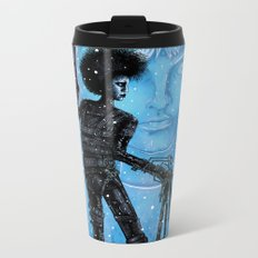 Edward Scissorhands Metal Travel Mug