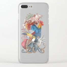 Franken Beasts, Where do You Find Them Clear iPhone Case