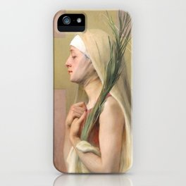Saint Thecla Catholic Religious Art iPhone Case